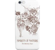 SPIRITS OF NATURE:  The Blueberry Boys iPhone Case/Skin