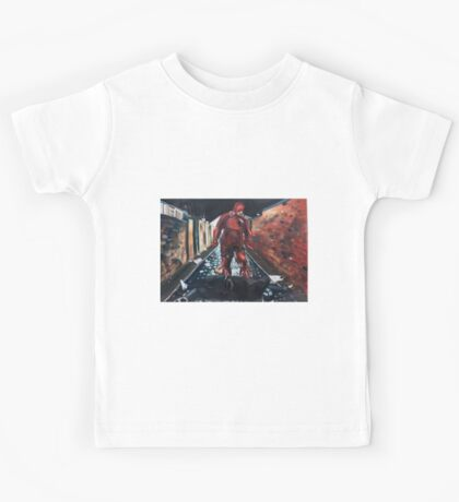 Man Without Fear - Red Kids Tee