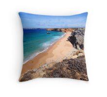 Algarve Cliff Throw Pillow
