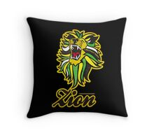 IRON LION ZION Throw Pillow