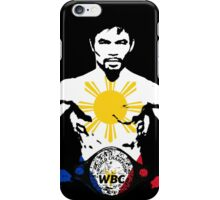 MANNY PACQUIAO iPhone Case/Skin