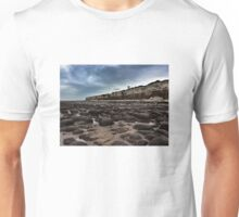 Norfolk (England) cliff and rocks Unisex T-Shirt