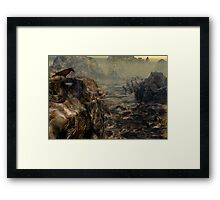 Path of the Crow Framed Print