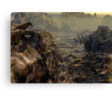 Path of the Crow Canvas Print