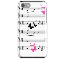 Musical Abstract iPhone Case/Skin