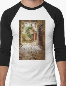 Stairs through Doorway, Rovinj, Croatia T-Shirt