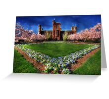 Smithsonian Castle Garden Greeting Card