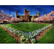 Smithsonian Castle Garden Photographic Print