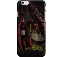 Lair of the Red Dragon iPhone Case/Skin