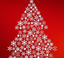 Snowflake Christmas Tree by joggi2002