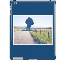 Empty road, the Morvan, Burgundy, France.  iPad Case/Skin