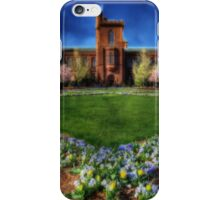Smithsonian Castle Garden iPhone Case/Skin