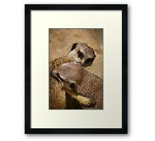 Everyone Loves Hugs Framed Print