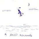 A devil ascends by pAgEdOwN