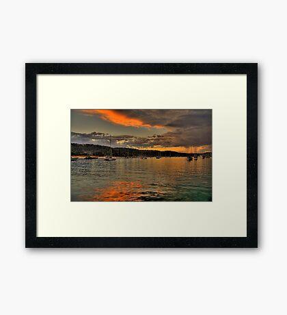 Light - Newport - The HDR Series Framed Print