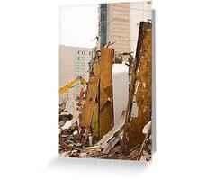 Destruction Greeting Card