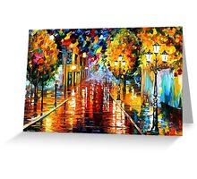 Improvisation Of Lights — Buy Now Link - www.etsy.com/listing/223804063 Greeting Card