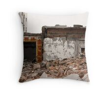Beijing under destruction 1 Throw Pillow