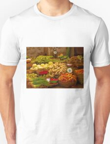 Fresh Vegetables, Street Market in Can Tho, Southern Vietnam T-Shirt