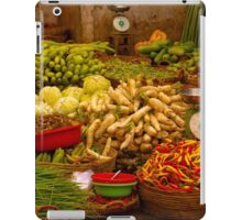 Fresh Vegetables, Street Market in Can Tho, Southern Vietnam iPad Case/Skin