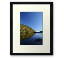 Jordans' Pond with Bubble Mountains Framed Print