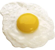 Fried Egg Photographic Print