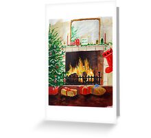 Cosy Christmas Greeting Card