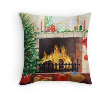 Cosy Christmas Throw Pillow