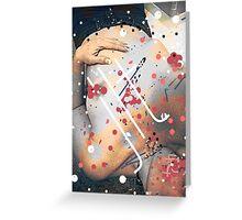 Sadist's Graffiti On Love Greeting Card