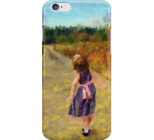 Dancing Down The Street iPhone Case/Skin