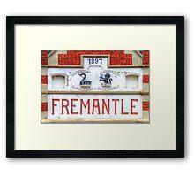 Fremantle Markets - HDR - Fremantle WA Framed Print