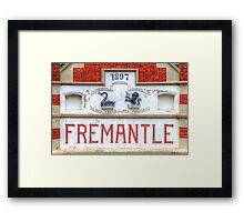 Fremantle Markets - HDR - Fremantle WA Framed Print