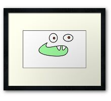 Cute Crocodile Framed Print