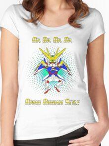 Oppa Gundam Style Women's Fitted Scoop T-Shirt