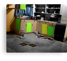 cozy in the burbs...moving out again part 2 Canvas Print
