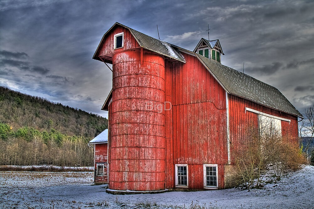 Red Silo by BigD