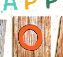 Happy Happy Joy Joy Sticker