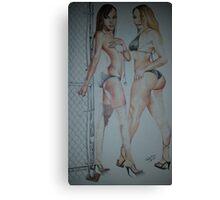 XXL Models Canvas Print