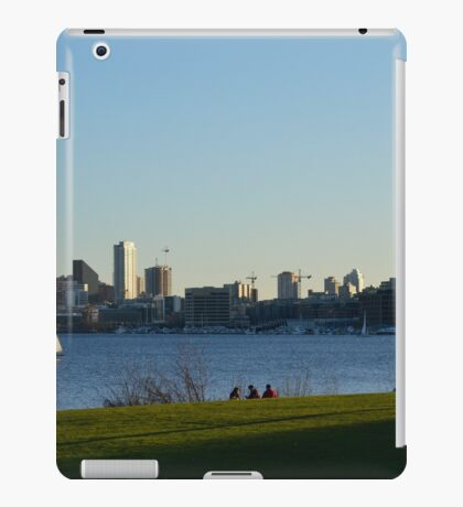 Sail Boats in the Sound iPad Case/Skin