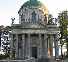 Old cathedral by TarasKokovsky