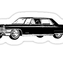 1965 Cadillac Fleetwood Sedan Sticker
