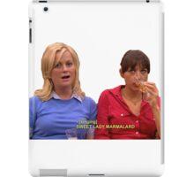 Ann and leslie iPad Case/Skin