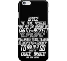 Castle The Final Frontier- v2a iPhone Case/Skin