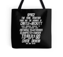 Castle The Final Frontier- v2a Tote Bag