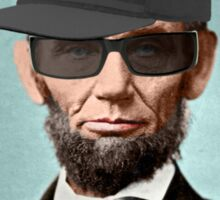 Abe Lincoln Original Gangsta' Sticker