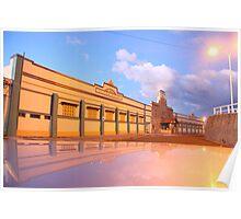Newcastle Baths Carpark Poster