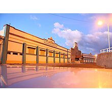 Newcastle Baths Carpark Photographic Print