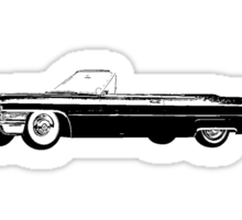 1965 Cadillac De Ville Convertible Sticker