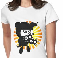 tough lil guy Womens Fitted T-Shirt
