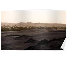 Sand Dunes - Western Australia Poster